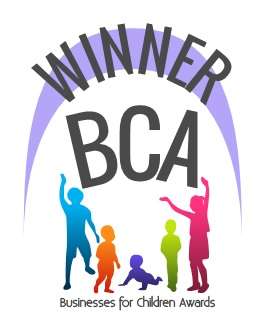 Winner of the Business for Children Awards 2014