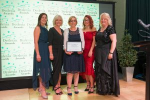 Sharon Thomas – 2018 Certificate of Appreciation: Kate, Lisa, Sharon, Katie and Eli