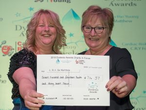 2019 Dyslexia Awards Charity In Focus CRY for Matthew
