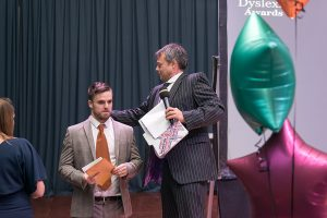 our compere doubles as a wardrobe assistant too!