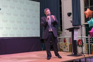 Our fabulous Dyslexia Awards compere – Paul Shuttleworth